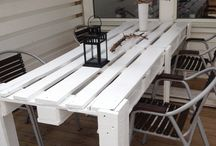 Pallet Recycle / Recycle ecological repurpose thrifty frugal junk / by Christine Morgan