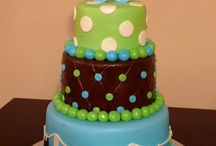 Baby shower cake boy / Cake