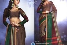 Handloom Cotton Sarees from She'z Lemon Sarees / Handloom Cotton Sarees from She'z Lemon Sarees