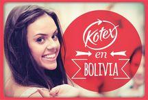 Kotex en Bolivia