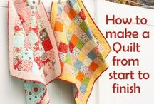 sewing and quilting / by Kellie Gonzales