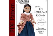 Doll Clothes / Doll clothes patterns, doll clothes ideas and tutorials.