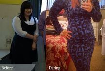 before and after weight loss :)