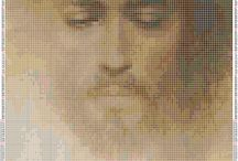 Punto de cruz / Religioso