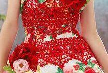 Evening Dresses / Recopilación de preciosos vestidos de noche y fiesta.
