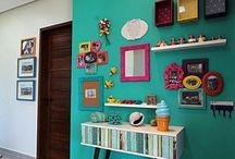Bright color walls
