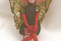 Barb Keeling Cloth Doll Patterns, Books, Tutorials, and Face Stamps