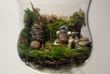 Pop Culture Terrariums! / A few creative ways to incorporate some of your favorite pop culture interests into some amazing terrariums!