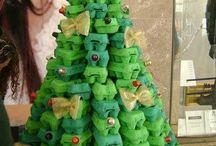 Arboles y decoracion nadal