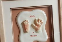 Hand and footprints, baby castings and gifts / Lots of lovely gifts celebrating the birth of a new born baby! Hand and foot prints are timeless memories captured when so small, before they quickly grow!