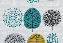 Surface Design (Textile Design) / surface design ideas, pattern repeat, textile design, lines, shapes