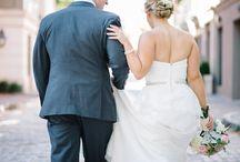 wedding: anna + jon / Venue: Harbour Club, Charleston, SC ~ Planner: Mac + B Events ~ Flowers: Gayla Harvey Tiger Lily Weddings ~ Photo: Aaron and Jillian Photography