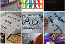 Alphabet/Name Practice / by Kristen's Kindergarten