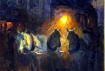 pinturas nocturnas