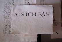 Calligraphy: Roman
