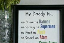 super hero dad gift