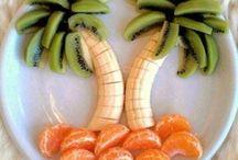 Présentation fruits & légumes / Présentation fun fruits & légumes