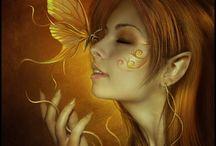 Mundo de fantasía / Bosques mágicos y todos los seres que los habitan