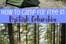 Camping | CANADA / Awesome campsite spots across Canada for your next road trip!