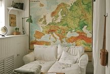 Old maps / by C'estChouetteHome/WollWorks