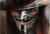 V for Vendetta. / Revolution's time has come…
