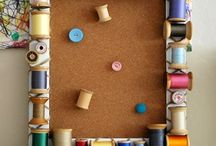 Crafty suitcases-spools