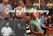 Good Mythical Morning! / Rhett & Link / by Madeline