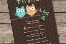 Owl Twin Baby Shower