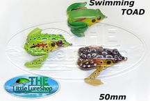 Soft Plastic Frogs