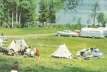 Retro Camping Pics / We love pictures and photographs of camping, camper vans and caravans of tester years.