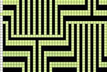 Mosaico knitting / barevné pletení