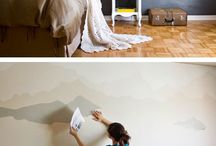 painting landscapes on walls