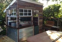 Other Backyard Structures / Backyard entertaining structures made from recycled materials
