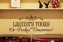 Laundry Rooms / by Sherri Tyrolf