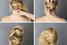 French roll for hair