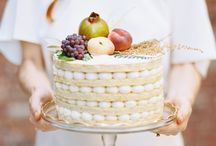 Wedding decor fruits and vegetables
