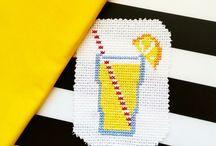 cross stitch / handmade