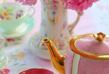 Pink Table / tableware, teapot, cup, kitchenware of Pink