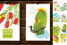 2018 Calendars Letterpress