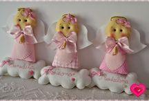angelitos de trapo