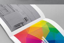 Brozura architecture color