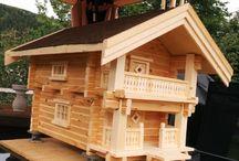 Hobby woodworking / Håndlagd i treverk