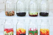 Things in Jars / ...because who doesn't love things in mason jars?