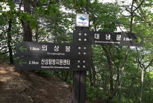 Bring It On Trail Run Road Sign 15 / 대남문 방향 이정표 Road Sign to Daenammun GPS: 37.642769  126.965355 고도(Altitude): 560m