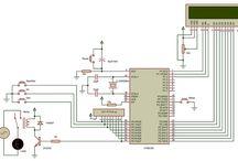 Circuit diagrams A /  / Схемы электрические принципиальные  electronics circuit schematic