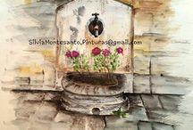 Acuarelas - Watercolors - Aquarelles - Acquerelli - Aguarelas / Mis dibujos y pinturas en acuarelas