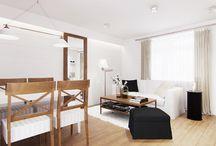 2012 r. PROWANSJA NA TLE CEGŁY / www.tissu.com.pl / apartament na  poddaszu w Grodzisku Mazowieckim 50m2