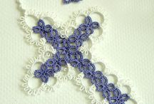 Projects to Try / Tatting. An old style of lace work.