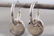 Hoop Earrings / #earrings #hoopearrings #otisjaxon #womensfashion #silverjewelry