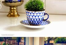 teacup gardens and pretty teacups